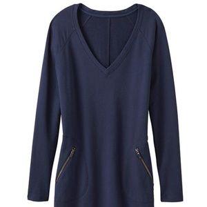 Athleta Long Sleeve Sweatshirt Dress Size Small